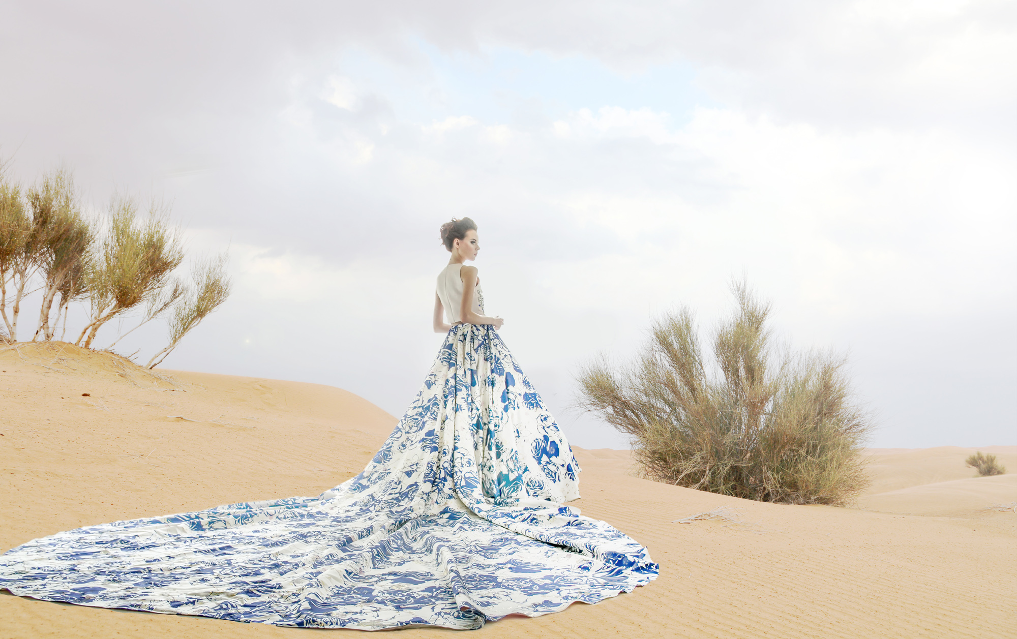 Fashion on the desert